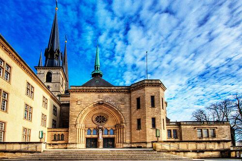 Resultado de imagen de catedral de notre dame luxemburgo